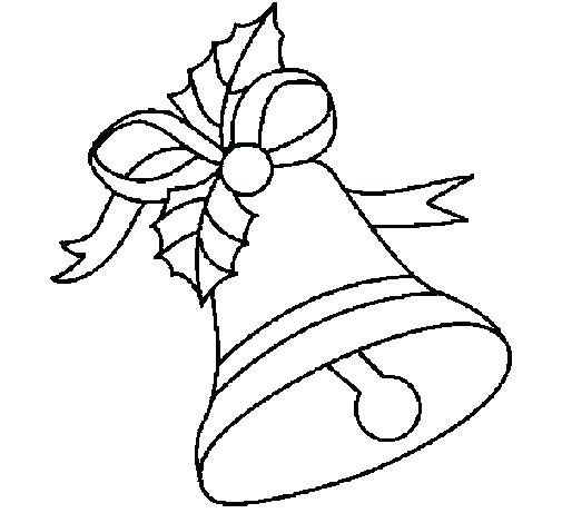 505x470 Bell Coloring Page Bell Coloring Page Jingle Bells Lyrics Coloring