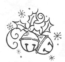 Jingle Bell Drawing At Getdrawings Com Free For Personal Use Rh Holiday Black And White Clip Art Christmas Ornament