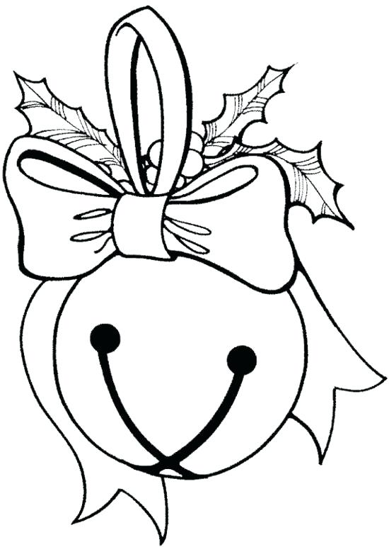 550x772 Jingle Bells Coloring Pages