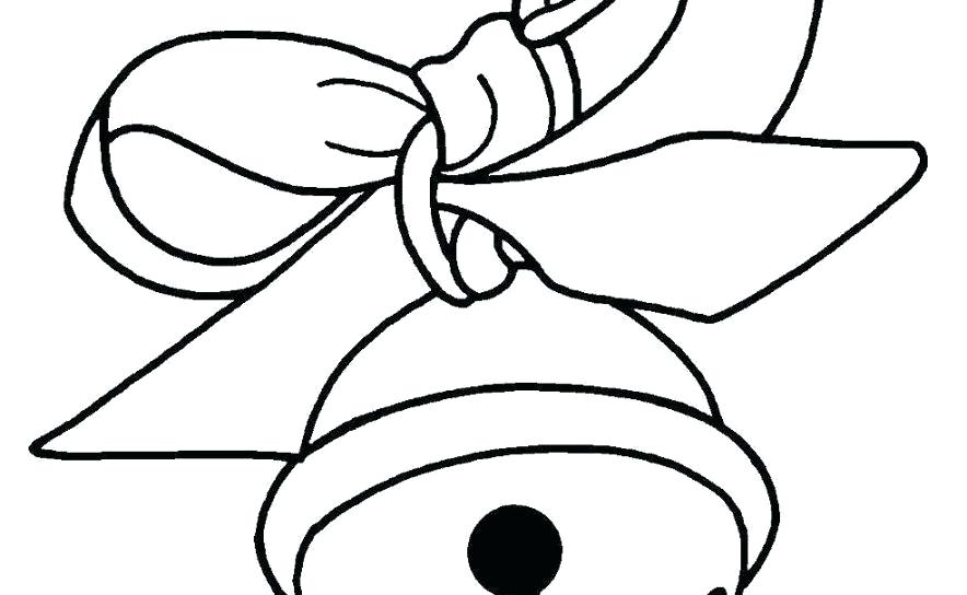 884x544 Christmas Bells Coloring Bells Coloring Pages Coloring Christmas