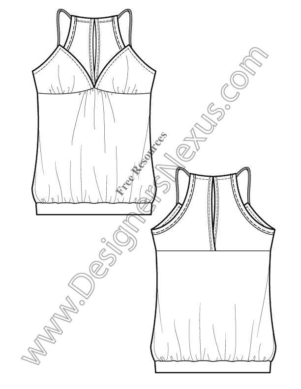 612x792 fashion technical drawing 250 free vector fashion flat sketches