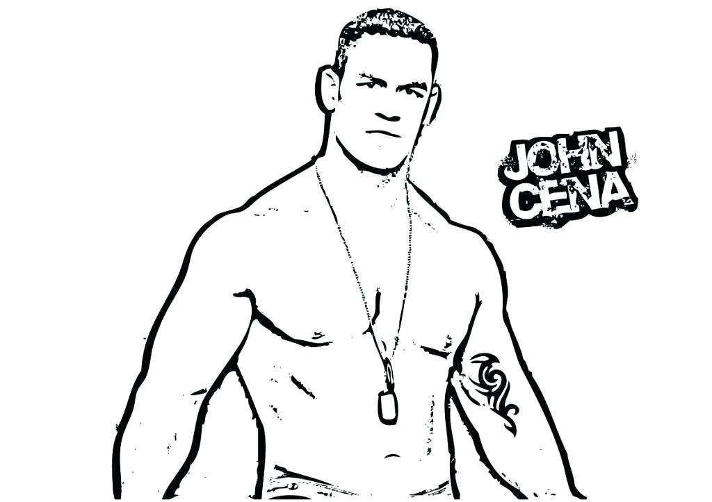 1024x723 John Cena Coloring Pages Free Online John Coloring Pages To Print