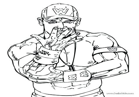 476x333 John Cena Coloring Pages John With His Wife Wrestler Coloring Page