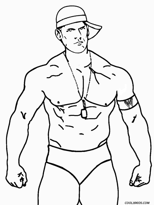 John Cena Drawing at GetDrawings.com | Free for personal use John ...