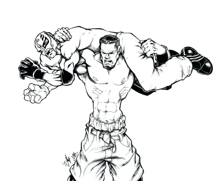 940x766 Simple John Cena Coloring Pages Fee Printable Many Interesting 4