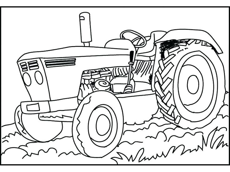 736x552 Tractor Color Page Tractor Coloring Page Photos Tractor Coloring