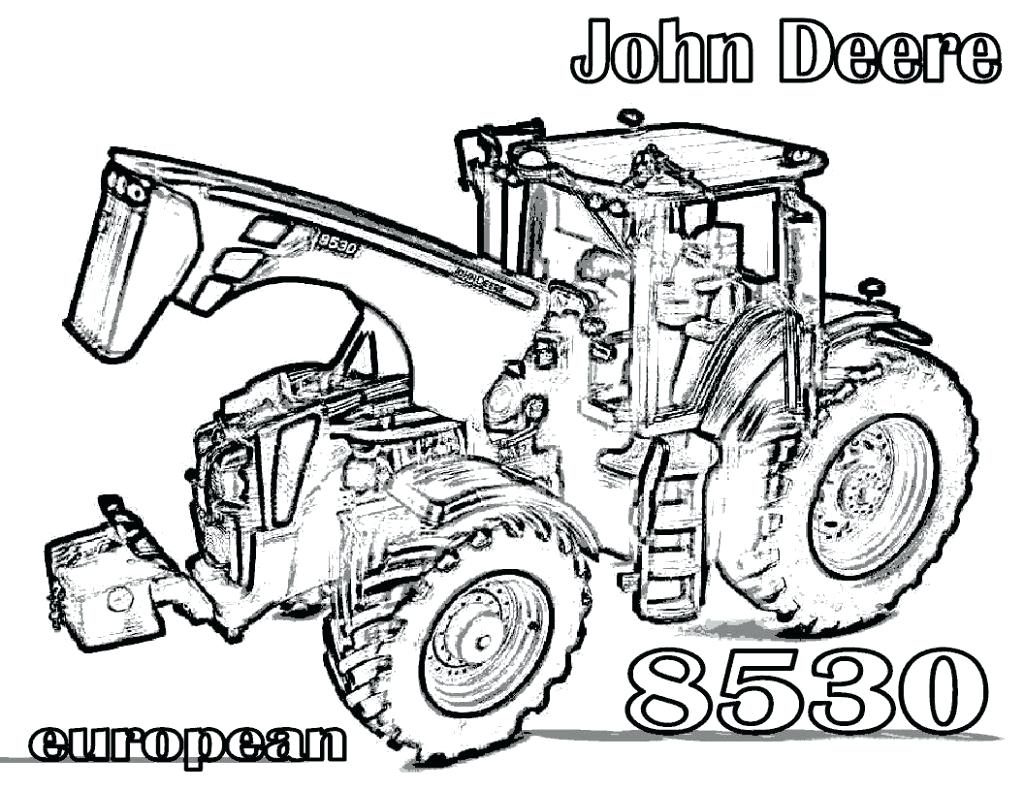John Deere Tractor Drawing at GetDrawings.com | Free for personal ...