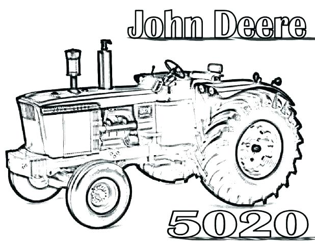 618x478 Coloring Page Tractor John Tractor Coloring Pages John Tractors