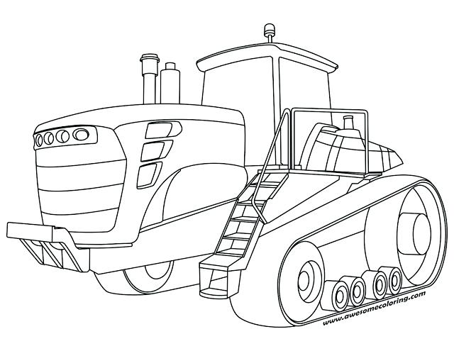 640x495 Great John Deere Tractor Coloring Page Image Tractors Pages Farm