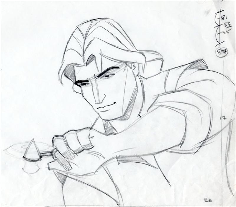 800x701 Disney Pocahontas Animator's Extreme