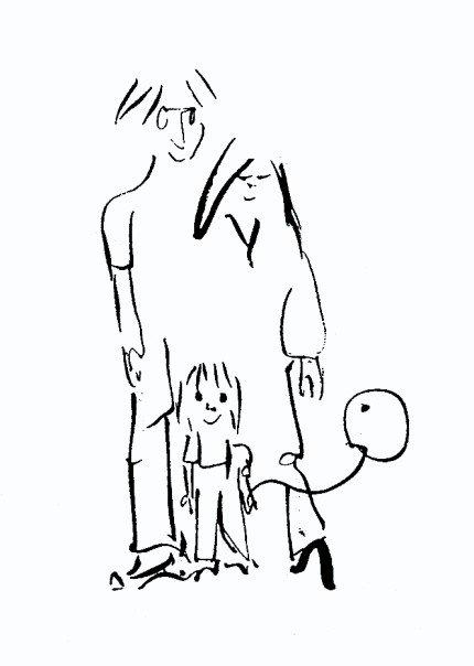 430x604 Drawing By John Lennon. Drawings By John Lennon