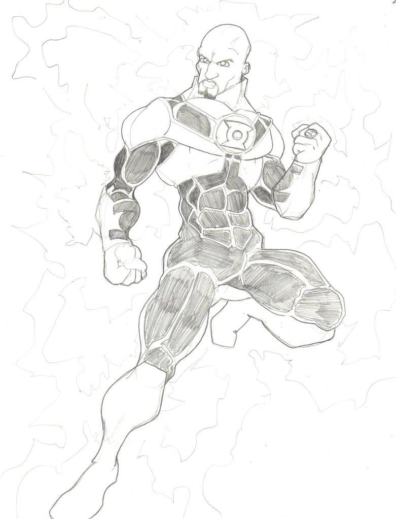 781x1022 Green Lantern Redesign John Stewart By Frischdvh