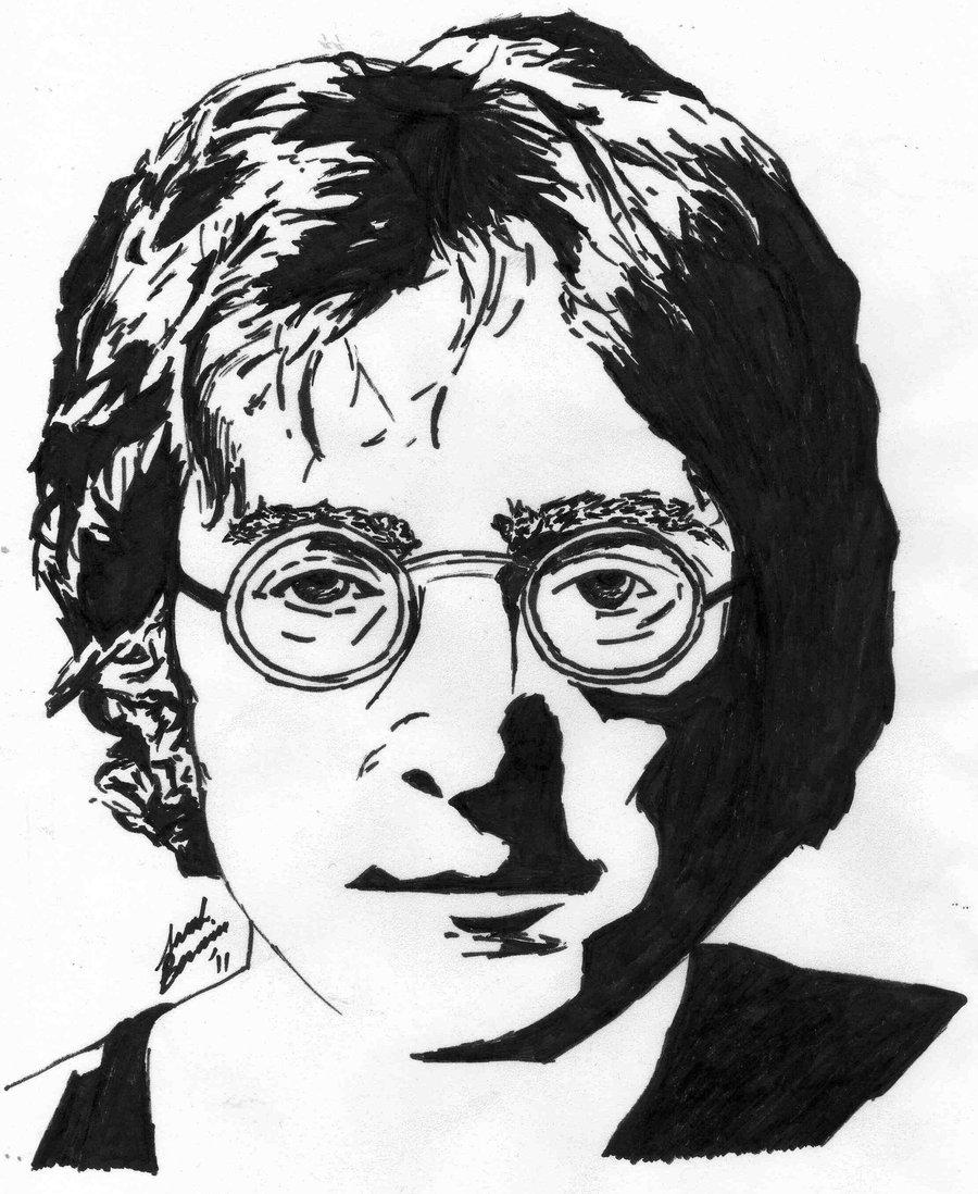 900x1098 John Lennon By Abreakinthemonotony