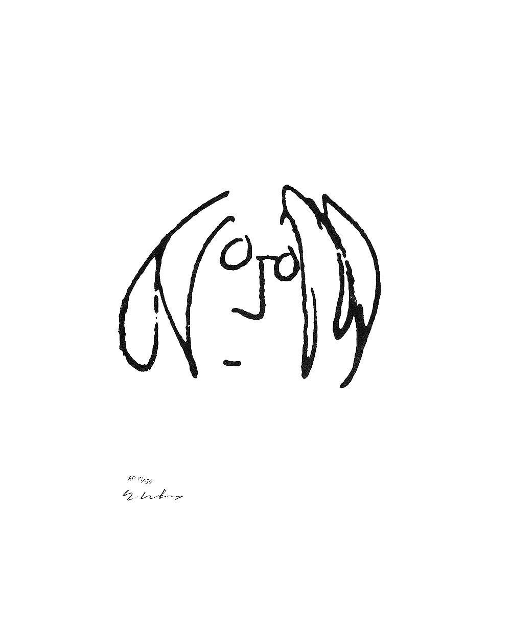 1000x1216 John Lennon Archives A U T O R I T R A T T I