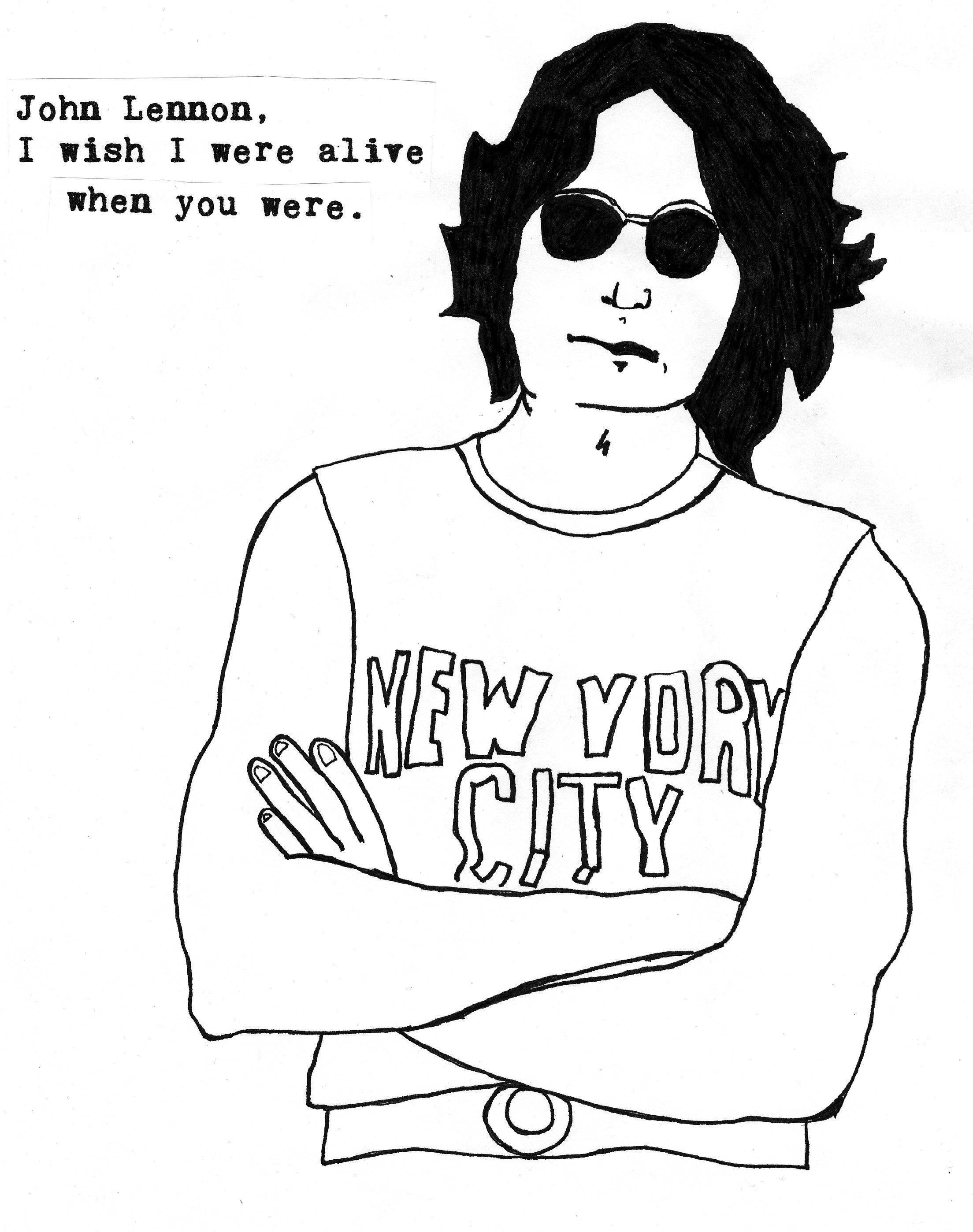 2208x2796 John Lennon Pictures