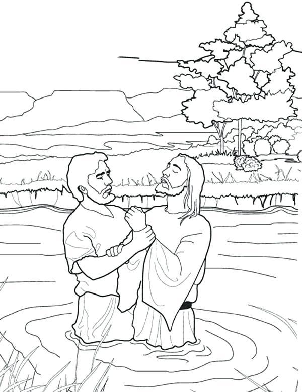 John The Baptist Drawing