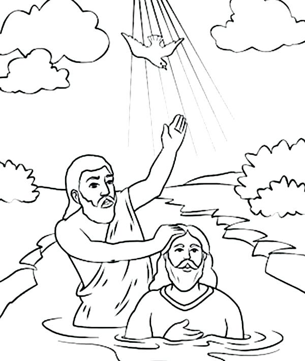 600x711 John The Baptist Coloring Page John The Baptist Coloring Pages St
