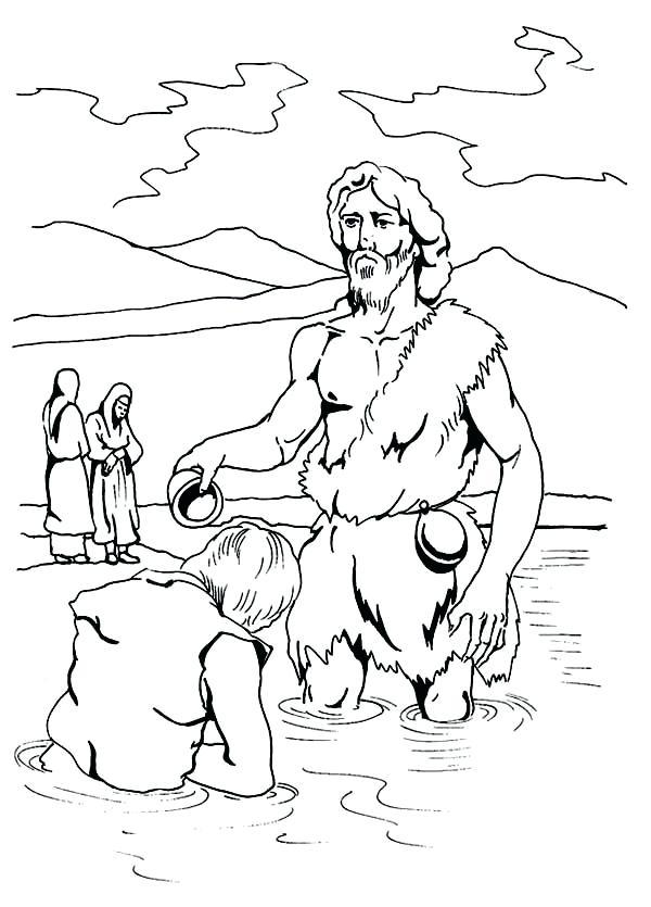 John The Baptist Drawing at GetDrawings   Free download