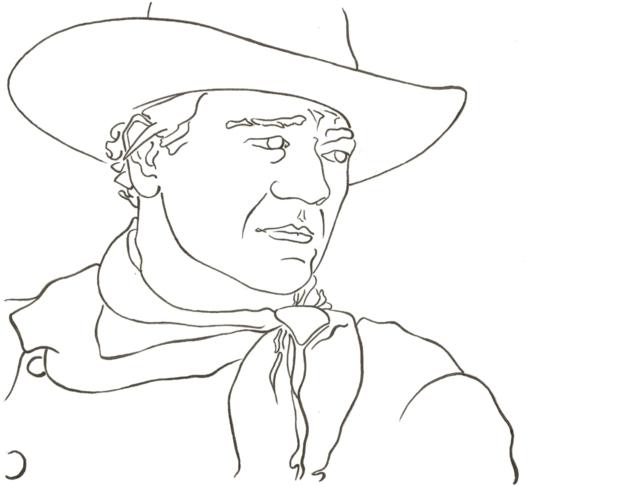 625x487 John Wayne By Wallflower Studios