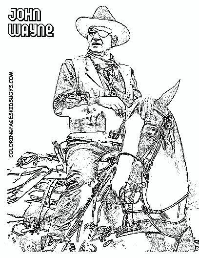408x528 23 Best John Wayne Coloring Pages Images On John Wayne
