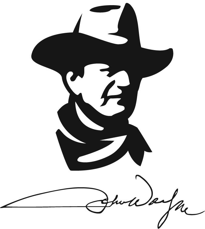 676x754 A Time To Remember John Wayne