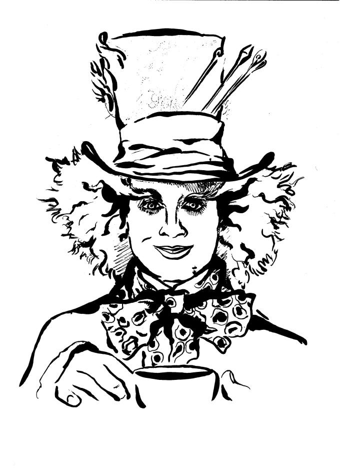 680x935 Draw A Stylish Ink Portrait Portraits, Sketches And Illustrators