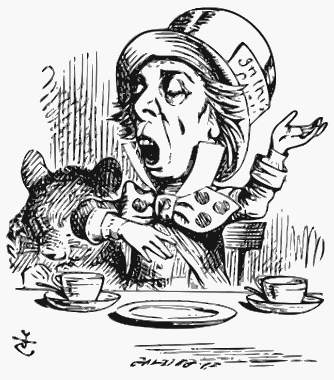 1200x1365 Hatter (Alice's Adventures In Wonderland)