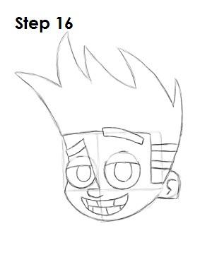 300x388 How To Draw Johnny Test