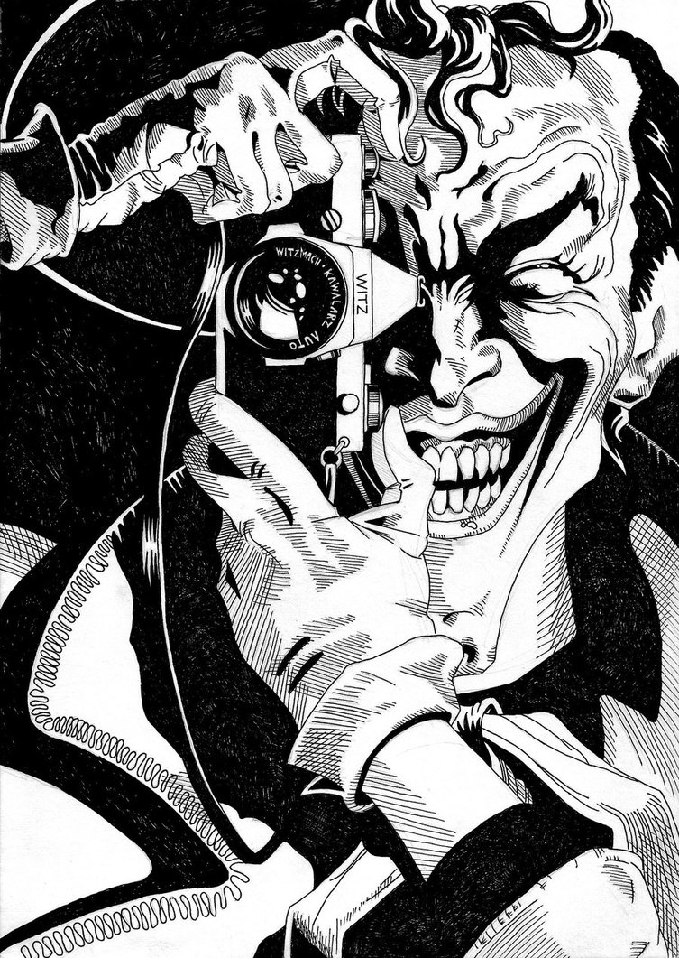 753x1061 The Killing Joke By Cultofzenith