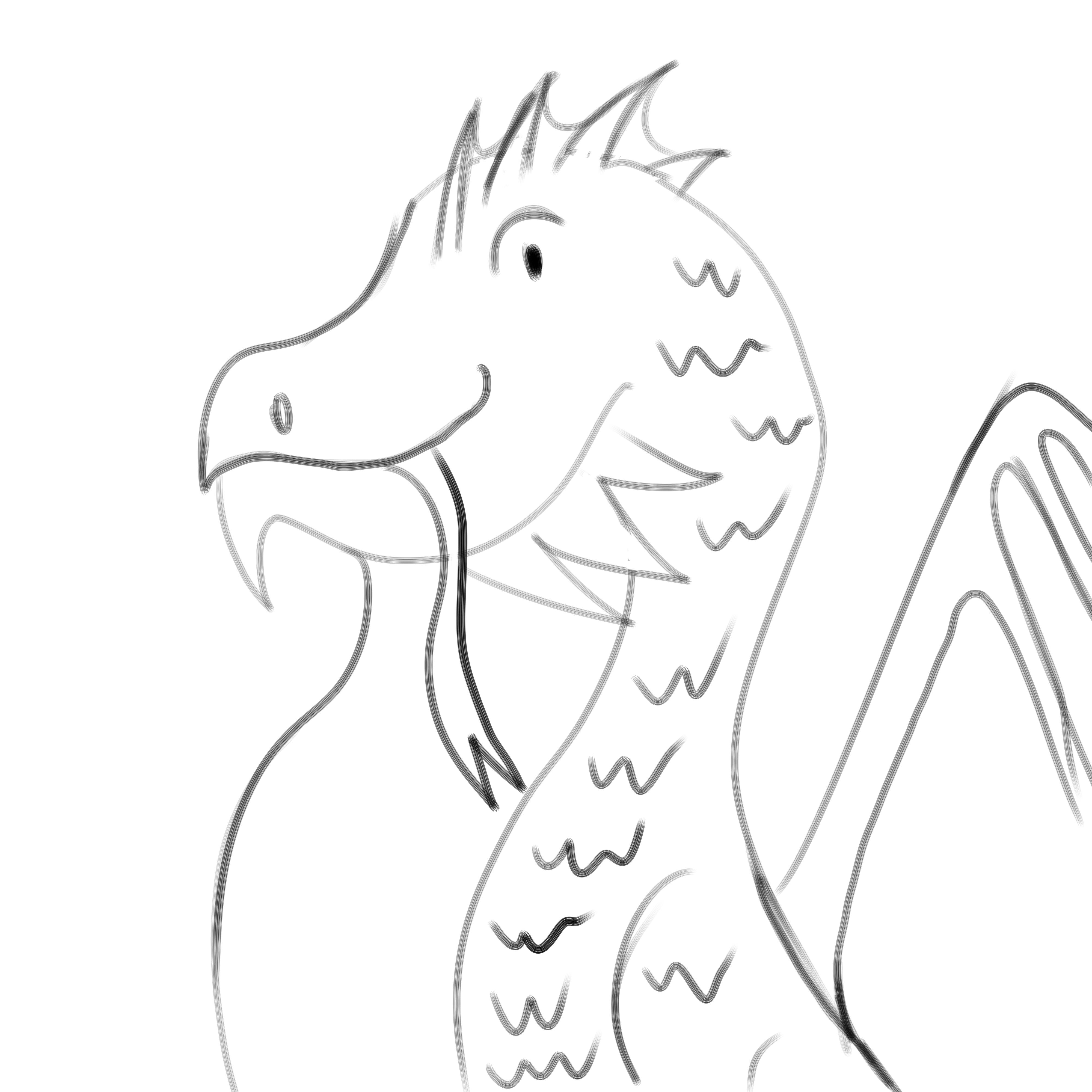 4000x4000 Bad Dragon Drawing (As A Joke) By Tfbumblebee Jazz Fan