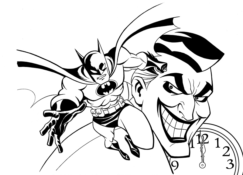 800x575 Batman Rac Cover Inks By Lostonwallace On Coloring