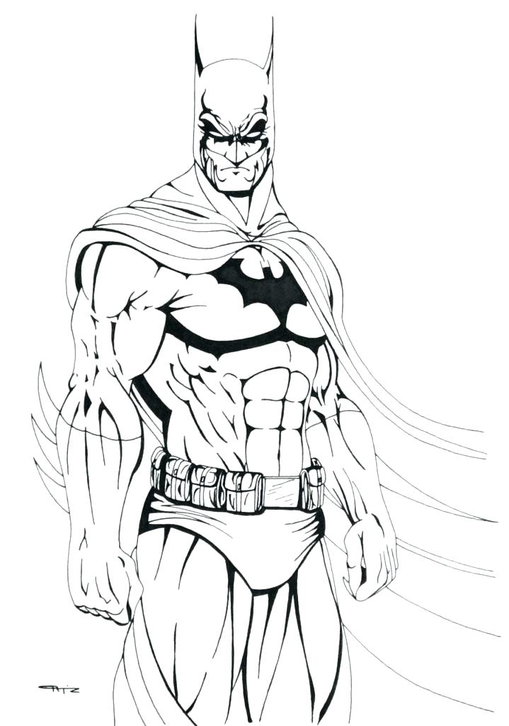 719x1024 Batman And Joker Coloring Pages Dark Knight The Elegant