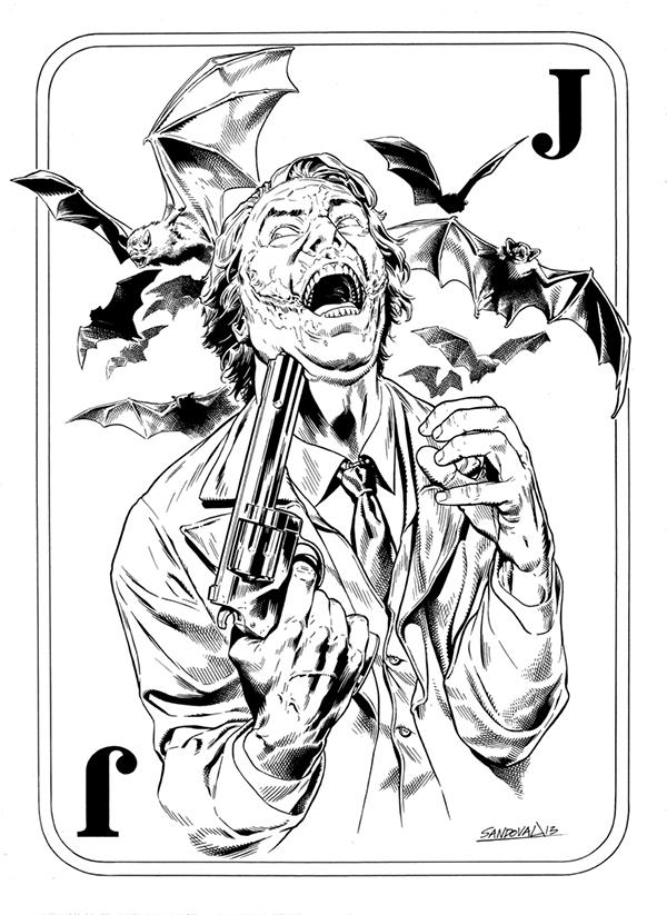 600x823 Joker Card By Sergio Sandoval On Behance