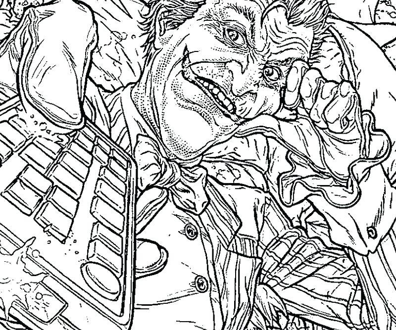 800x667 Joker Pictures To Color Genesisar.co