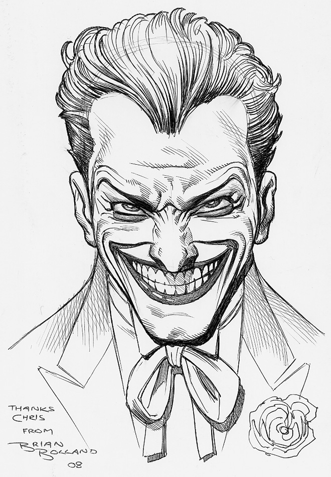 Joker Cartoon Drawing