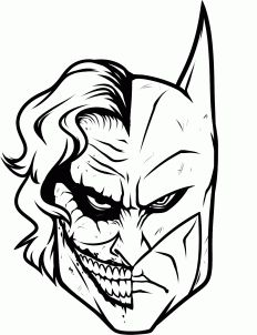 232x302 Daredevil Print Joker Sketch, Joker And Batman