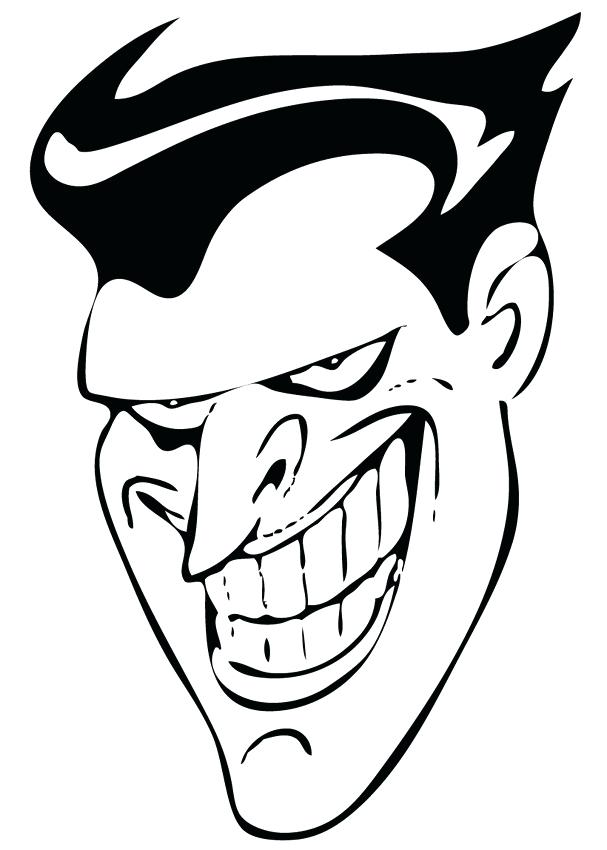 607x850 Fresh Joker Coloring Pages For 57 Cartoon Joker Coloring Pages
