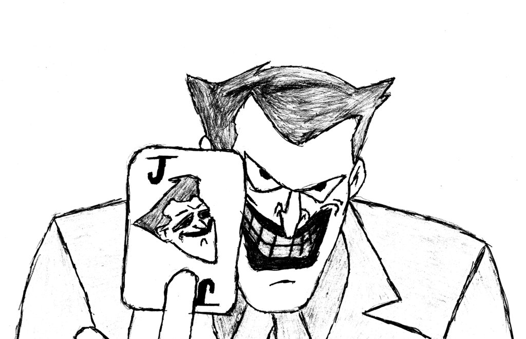 1024x659 Photos Cartoon Drawing Of The Joker,