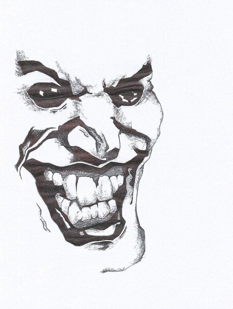 776x1030 Joker Biro Sketch By Way Kooks
