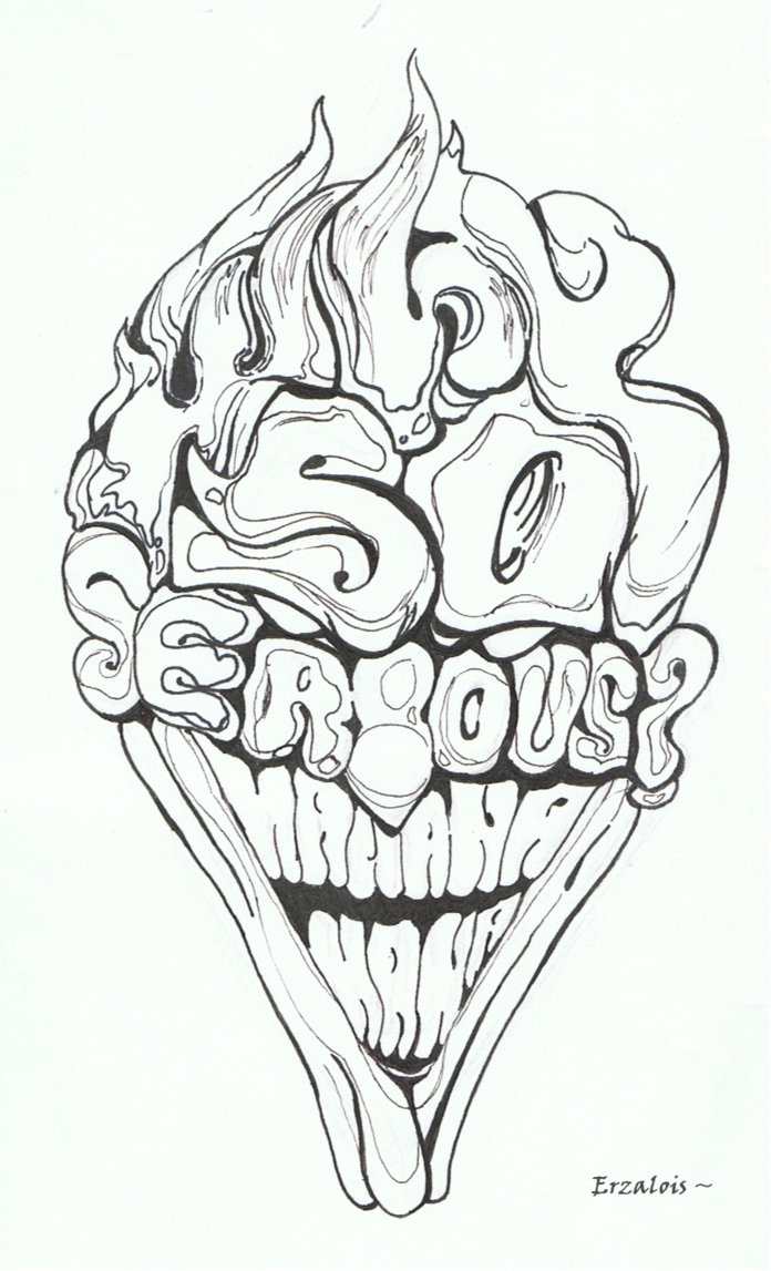 696x1147 Why So Serious ! Hahahaha ! Le Joker By Erzalois