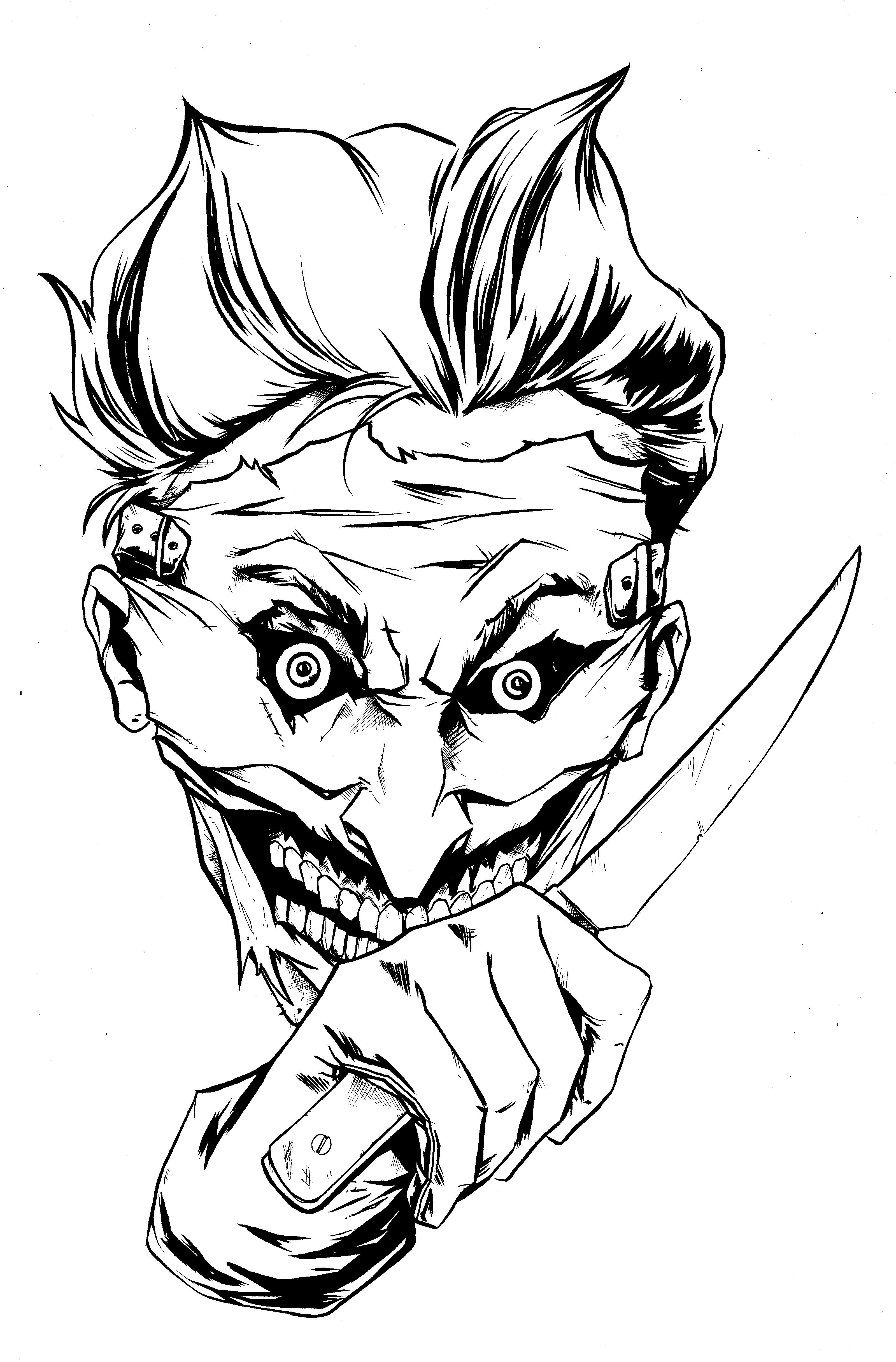 3199x4862 New 52 Joker 001 Johnboyzart's Blog