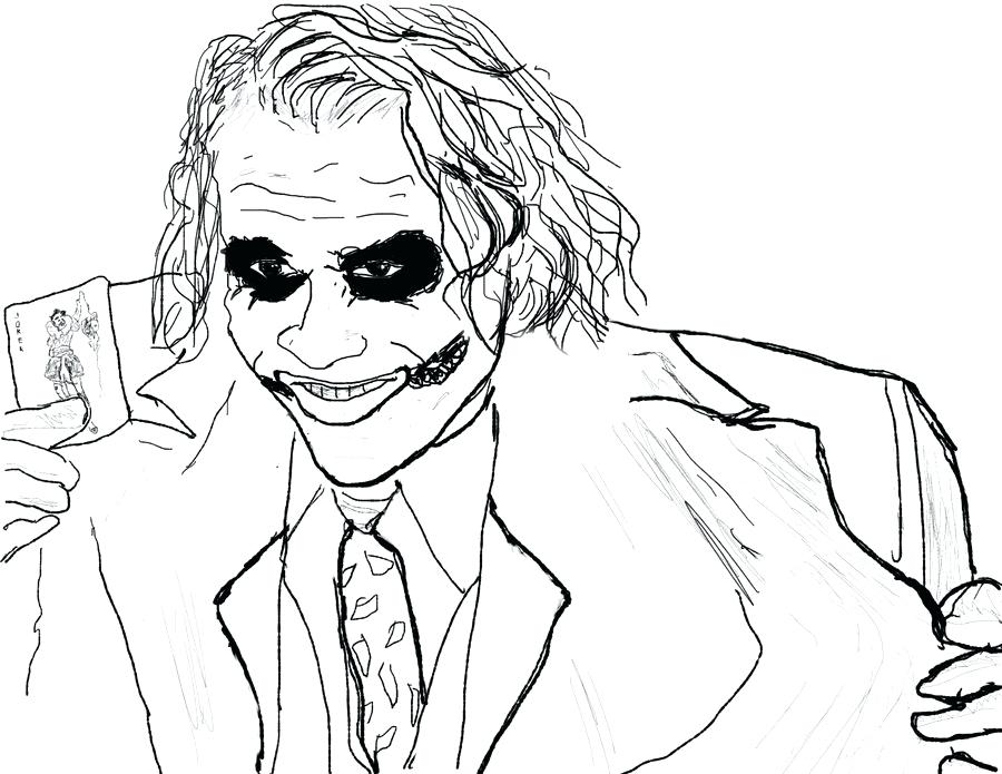 900x695 Joker Coloring Pages Joker Coloring Pages Comics Dc Comics Cartoon