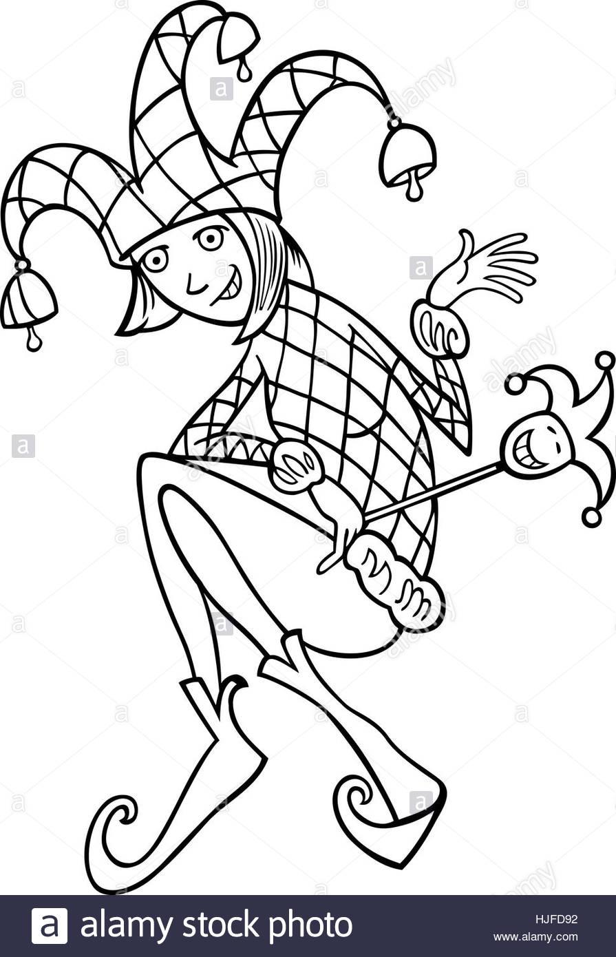 895x1390 Woman, Illustration, Funny, Fool, Jester, Joker, Cartoon, Chump