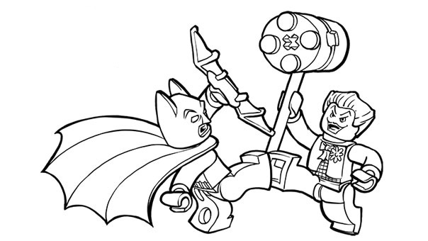 604x340 Trend Batman And Joker Coloring Pages 61 For Kids