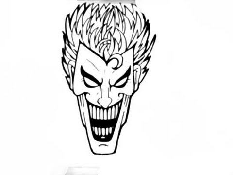 480x360 How To Draw A Joker