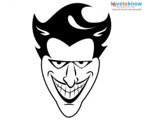 290x242 Joker Face Tattoos Lovetoknow