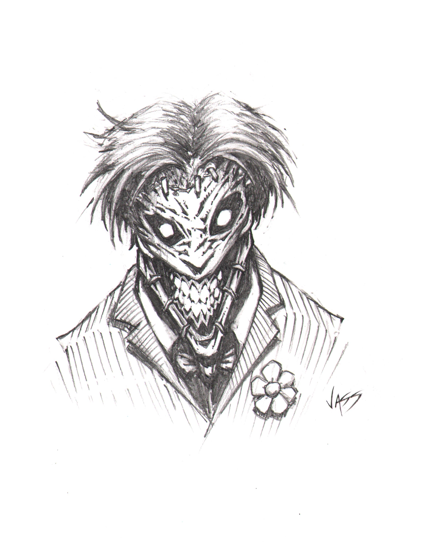 2401x3001 Joker Sketch By Vass Comics