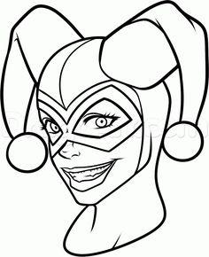 236x290 How To Draw Joker And Harley Quinn Step 11 Random Geekery