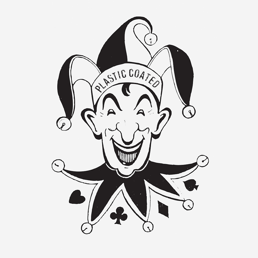 1000x1000 Vintage Joker Card Face By Javier Martinez Redbubble
