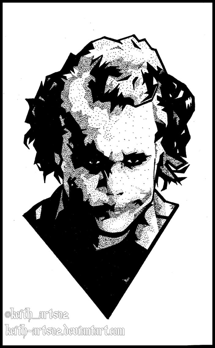 702x1138 Joker ~ Heath Ledger ~ Doodle By Keith Arts02